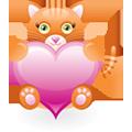 Kočičí srdce