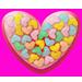 Srdce plné sladkostí